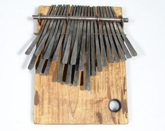 22 Key Lrg. Jimmy Chifamba DONGONDA Mbira Kalimba Thumb Piano Handmade Zimbabwe!