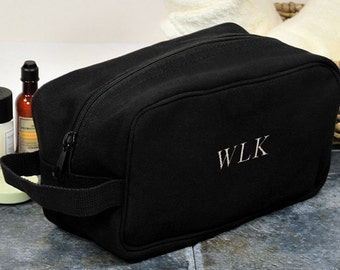 Personalized Monogrammed Canvas Travel Bag