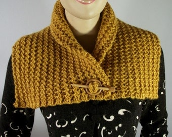 KNITTING PATTERN Scarf with Sleeves Celine by LiliaCraftParty