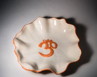 Om Symbol Serving Platter