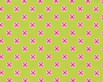 Lush by Patty Young for Michael Miller - Happy Dot - Citron - 1/2 yard cotton quilt fabric 516