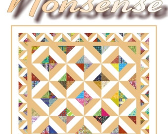 New - NONSENSE - Quilt-Addicts Patchwork Quilt Pattern