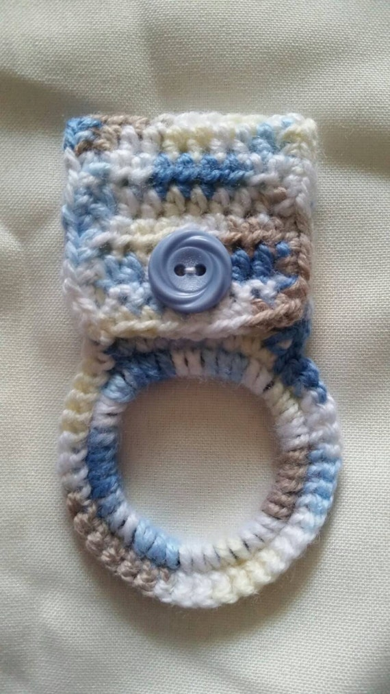 Free Crochet Patterns For Kitchen Towel Holders : Crochet Kitchen Towel Holder.