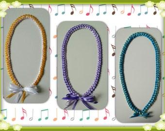 Braided Ribbon Leis - Graduation Leis, Wedding, Party Leis......