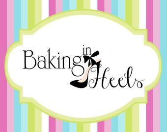 Decorated Cookie Sample, Custom Cookie Sample, Taste Test Cookie, Baking in Heels Cookies, Sample