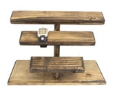 Wooden Jewelry Display, Wood Watch Display, Watch Stand, Watch Holder, Timepiece Display, Watch Storage, Watch Organizer