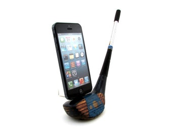 Vintage Wooden Golf Club iPhone 5/6 Dock