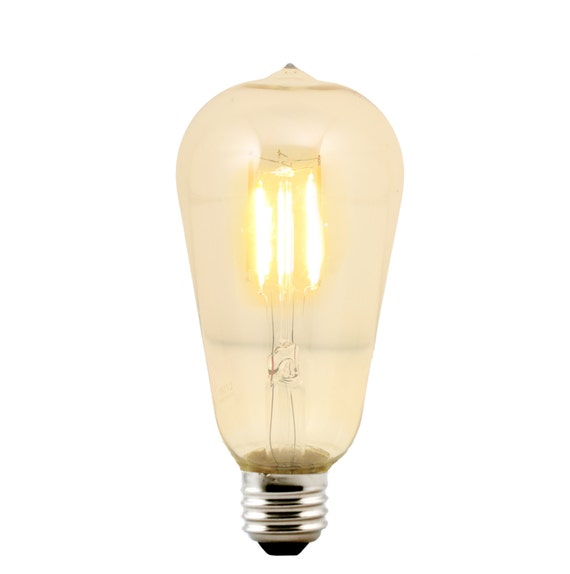 LED ST21 Marconi Style Bulb Medium Base E26 - Replacement for Urban Chandy incandescent bulb