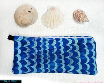 WAVES  , Make-up case, pencil case, eyeglass case, wallet