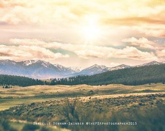 Oregon Photo | The Blue Mountains | Eastern Oregon | Baker City | Oregon Photography | Travel Photograph | Oregon Landscape