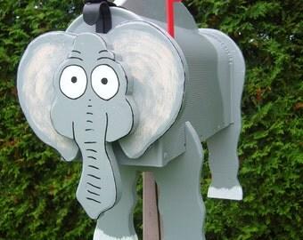 Wild animal mailbox - Elephant Mailbox