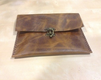 Vintage Leather Wallet,Small Pouch,Women Accessories