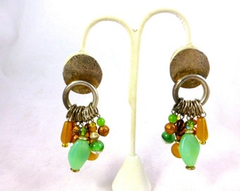 Marjorie Baer Boho Beaded Earrings