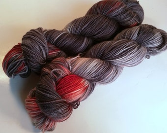 android on Max 80/20 SW Merino Nylon Hand dyed fingering weight sock yarn
