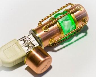 Flash drive 64 GB USB 3.0 steampunk