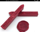 Glitter Red Sealing Wax - standard or fit for glue gun (set of two) - Color V