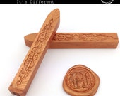 Rose gold Sealing Wax - standard or fit for glue gun (set of two) - Color F