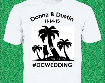 Tropical Wedding Tshirt