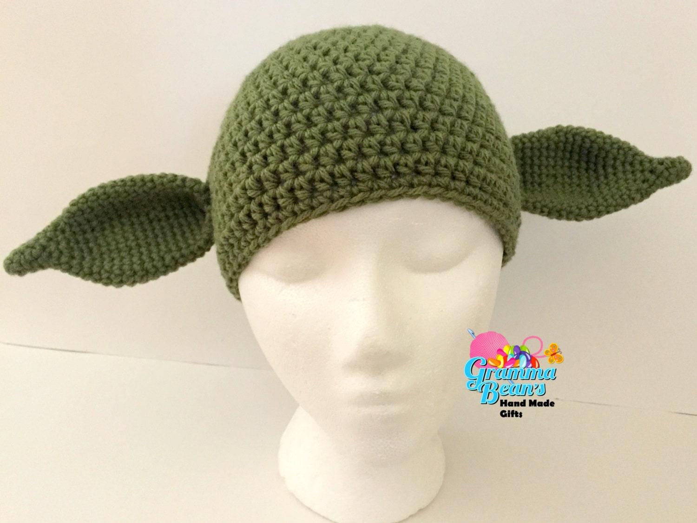 Yoda Inspired Hat Pattern
