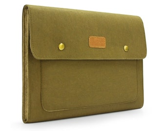 iPad Air Sleeve iPad Air Case Kraft Paper & Felt Bag iPad Sleeve for iPad 1 2 , New iPad, iPad 4 Case iPad Sleeve KE48