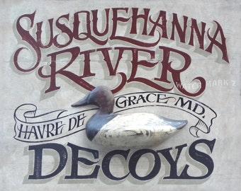 Susquehanna Decoys   Print