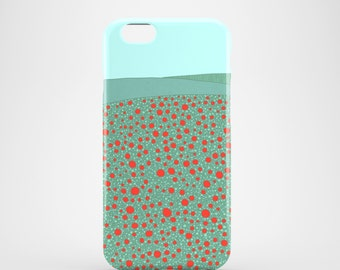 Poppy Field mobile phone case, iPhone 7, iPhone 7 Plus iPhone SE, iPhone 6S, iPhone 6, iPhone 5S, iPhone 5, illustration, spring iPhone case