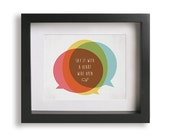 Say / John Mayer - Song Lyric Art Print - home decor, bridal shower gift idea, wall art, modern, dorm decor, typography, music poster