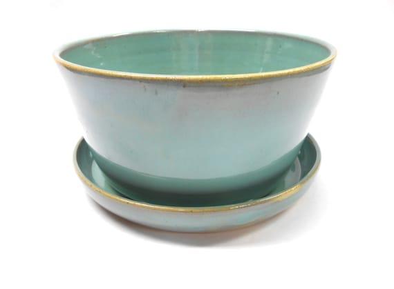 how to cut a hole in a ceramic pot