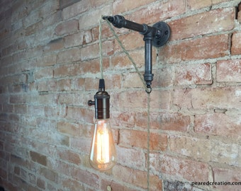 Wall Sconce - Industrial Lamp - Pendant Edison - Industrial Furniture - Wall Light
