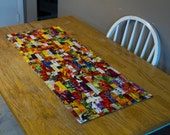 No. 12, Fruit and Vegetable String Quilted Table Runner