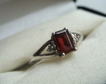 Tourmaline and Silver Ring