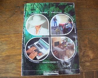 Vintage Montgomery Ward Catalog Spring & Summer 1985. Vintage Catalog. 80s Decorations. 1980s Vintage. 80s Clothing. 80s. Toys. 80s Fashion.