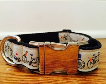 1in Bicycle dog collar