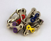 BULK Fidgets - Six - for Busy Hands - Multicolor