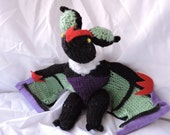 Noivern-Inspired Bat Plush