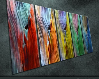 Large Original Metal Wall Art Modern Abstract Special Painting Sculpture Indoor Outdoor Decor by Ning
