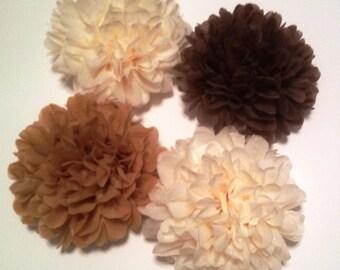 15 Large Tissue Paper Pom Poms - Birthday/Wedding/Baby Shower/Bridal Shower/Nursery