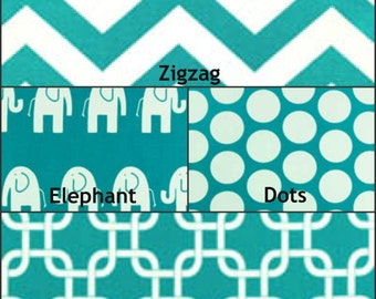 Premier Prints Turquoise Fabrics