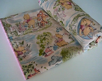 Winnie the Pooh Minky Baby Blanket