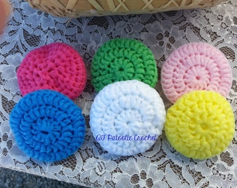 Nylon Pot Scrubbers - crochet