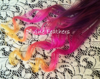 """4A Hair Extensions Ombre hair extensions 18"""" Clip in hair extension Summer Love Bayalage hair extensions by Divine Feathers"""