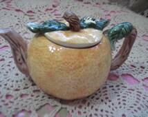 Darling Pumpkin Teapot Sweet SHUN HUI :)S