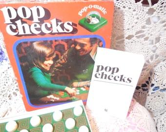 Checkers, Pop Checks Jumbo Game German Game 1980 Very Rare Game, Vintage Board Game, Board Game, Vintage Toys :)S*