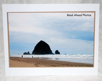 photo card, Cannon Beach, Oregon Coast, photography