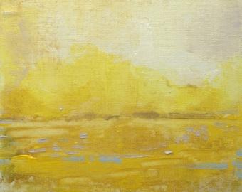 Ashley River in Lemon 1-- Impressionist Painting of landscape