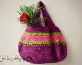 Crochet pattern, crochet bag pattern, crochet handbag, Easy Crochet Bag, Pattern No. 3