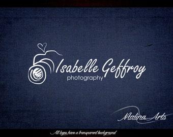 Logo desing. Camera logo. Heart logo. Photographer logo BUY 2 and GET 1 FREE!!!