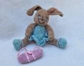 """Miniature Ballerina Artist Bunny """"Minuet"""" by Wendelika"""