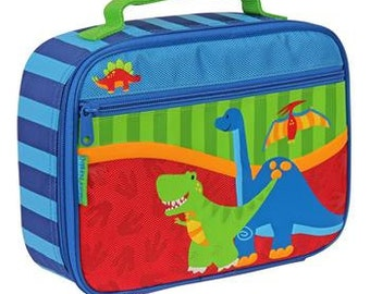 Personalized Stephen Joseph Dinosaurs Lunch Box