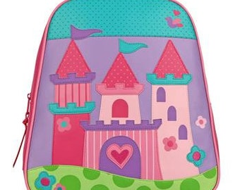 Personalized Stephen Joseph Go Go Castle Backpack
